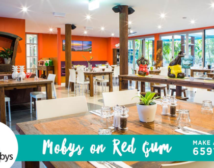 This Week at Mobys on Red Gum